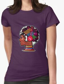 Street Fighter Elena. Beets In My Head Womens Fitted T-Shirt