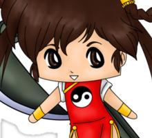 Chibi Devil Hunter Yohko Sticker