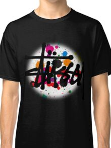 special STUSSY brush colors Classic T-Shirt