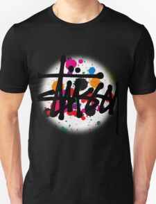 special STUSSY brush colors Unisex T-Shirt