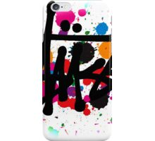 special STUSSY brush colors iPhone Case/Skin
