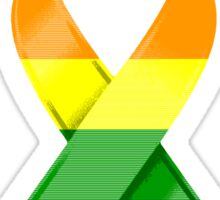 Gay Pride Awareness Ribbon of Support Sticker