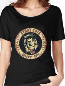 Stray Cats  (Runaway Boys) Vintage Women's Relaxed Fit T-Shirt