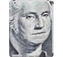 One Dollar Bill macro iPad Case/Skin