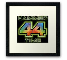 Lewis Hamilton 5D Framed Print