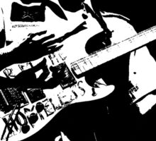 Dark Guitarist Sticker