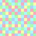 Colours Mozaik Throw Pillows by Vitta
