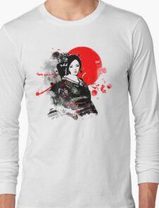 Japan Kyoto Geisha Long Sleeve T-Shirt