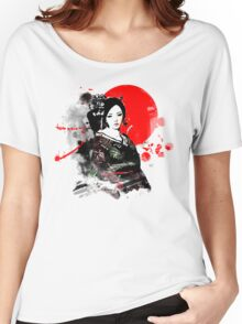 Japan Kyoto Geisha Women's Relaxed Fit T-Shirt