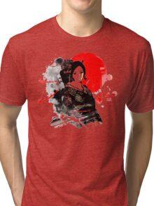 Japan Kyoto Geisha Tri-blend T-Shirt