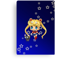 Chibi Sailor Moon Canvas Print