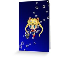 Chibi Sailor Moon Greeting Card
