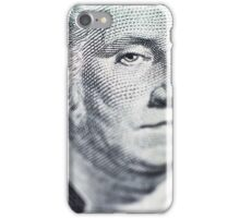 One Dollar Bill macro iPhone Case/Skin