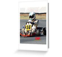 DAP Kart WTR101 Clay Lopes Greeting Card
