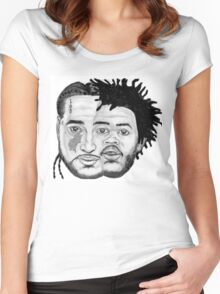 ASAP YAMS & CAPITAL STEEZ Women's Fitted Scoop T-Shirt