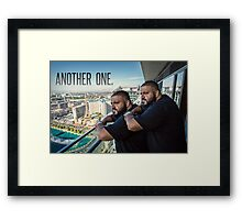 DJ Khaled - ''Another One''  Funny, Memes & Fashion  Framed Print