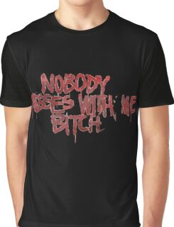 Life is strange Nobody messes with me Graphic T-Shirt