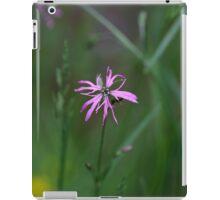 Flower of a Ragged-Robin iPad Case/Skin