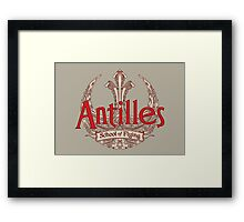 Antilles School of Flying (Light) Framed Print