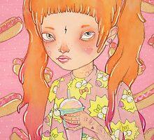 Orange Fluffy by lOll3