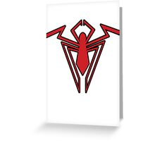 Spider-Man Unlimited Logo Tee Greeting Card