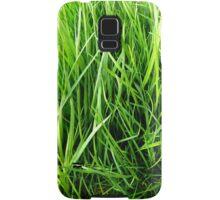 Green stalks Samsung Galaxy Case/Skin