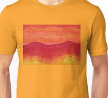 Red Saddle original painting Unisex T-Shirt