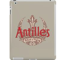 Antilles School of Flying (Light) iPad Case/Skin