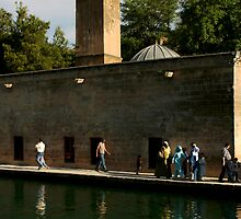 Halil-Ur Rahman Mosque in Urfa by Jens Helmstedt