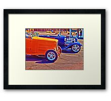 Streetrods Framed Print
