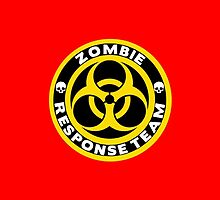 Zombie Response Team Design Phone Case by Squeezietees