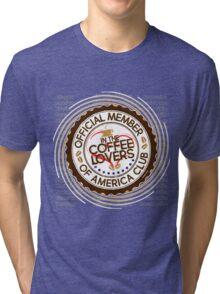 Coffee Lovers of America Club by Jeronimo Rubio 2016 Tri-blend T-Shirt