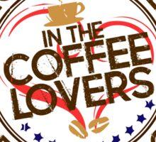 Coffee Lovers of America Club by Jeronimo Rubio 2016 Sticker