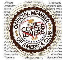 Coffee Lovers of America Club by Jeronimo Rubio 2016 Photographic Print