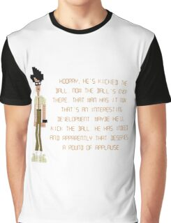 The IT Crowd – Moss at the Football Graphic T-Shirt