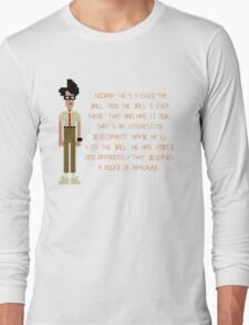 The IT Crowd – Moss at the Football Long Sleeve T-Shirt