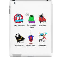 The LlamAvengers iPad Case/Skin