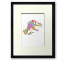 jurassic world Framed Print