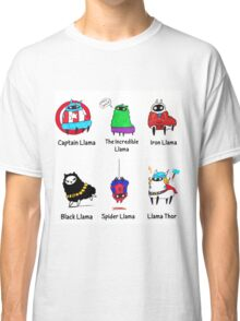 The LlamAvengers Classic T-Shirt