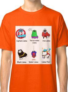 The LlamAvengers Classic T-Shirt