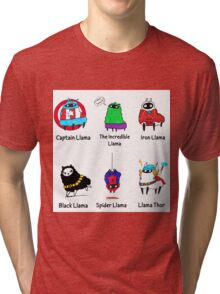 The LlamAvengers Tri-blend T-Shirt