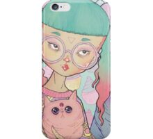 Cat Lady iPhone Case/Skin