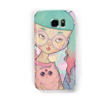 Cat Lady Samsung Galaxy Case/Skin