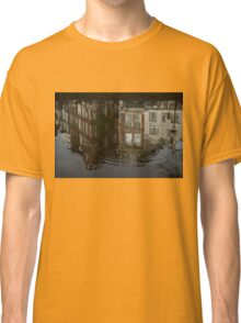 Raindrops, Ripples and Fabulous Reflections of Amsterdam Canal Houses Classic T-Shirt