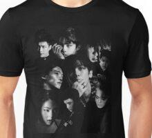 EXO - Monster Collage Black & White Unisex T-Shirt