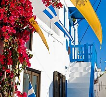 Greece. Streets of Mykonos. by vadim19