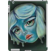Blue Faced Girl iPad Case/Skin
