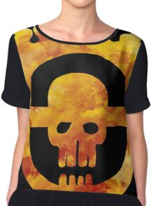 mad max fury road wheel Chiffon Top