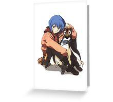 Evangelion #07 Greeting Card