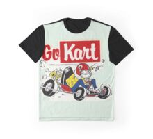 Go Kart Vintage Graphic T-Shirt